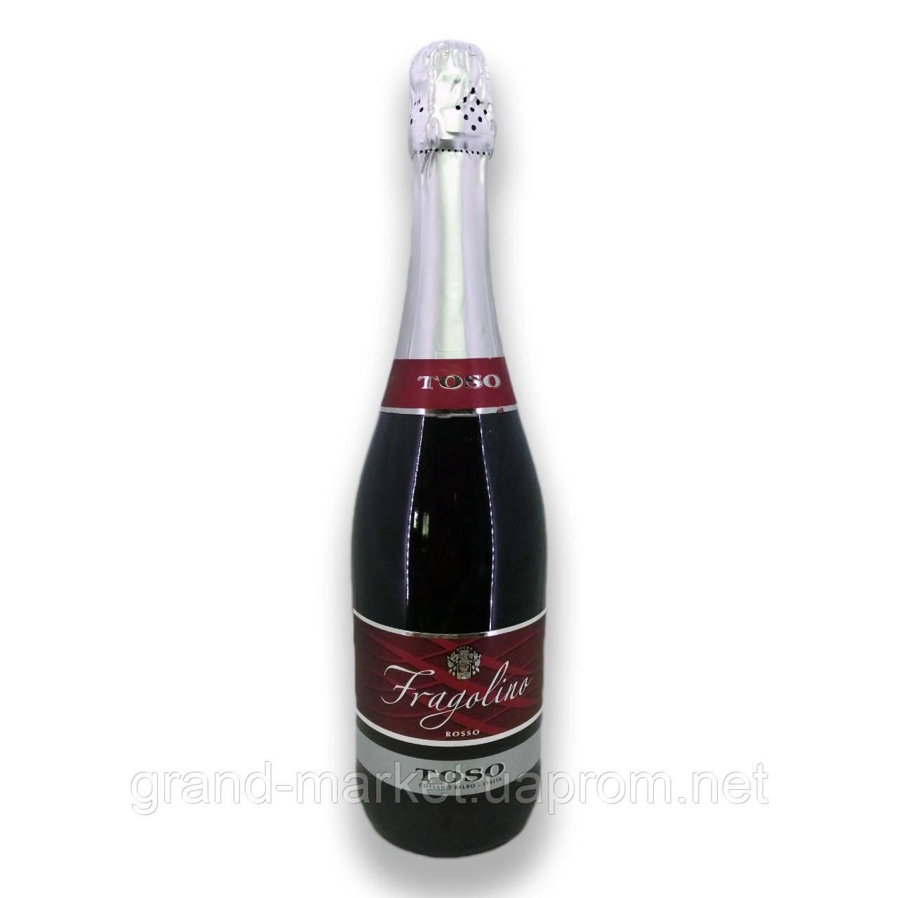 "Вино игристое  "" Fragolino Toso Rosso "" 0.75 l"