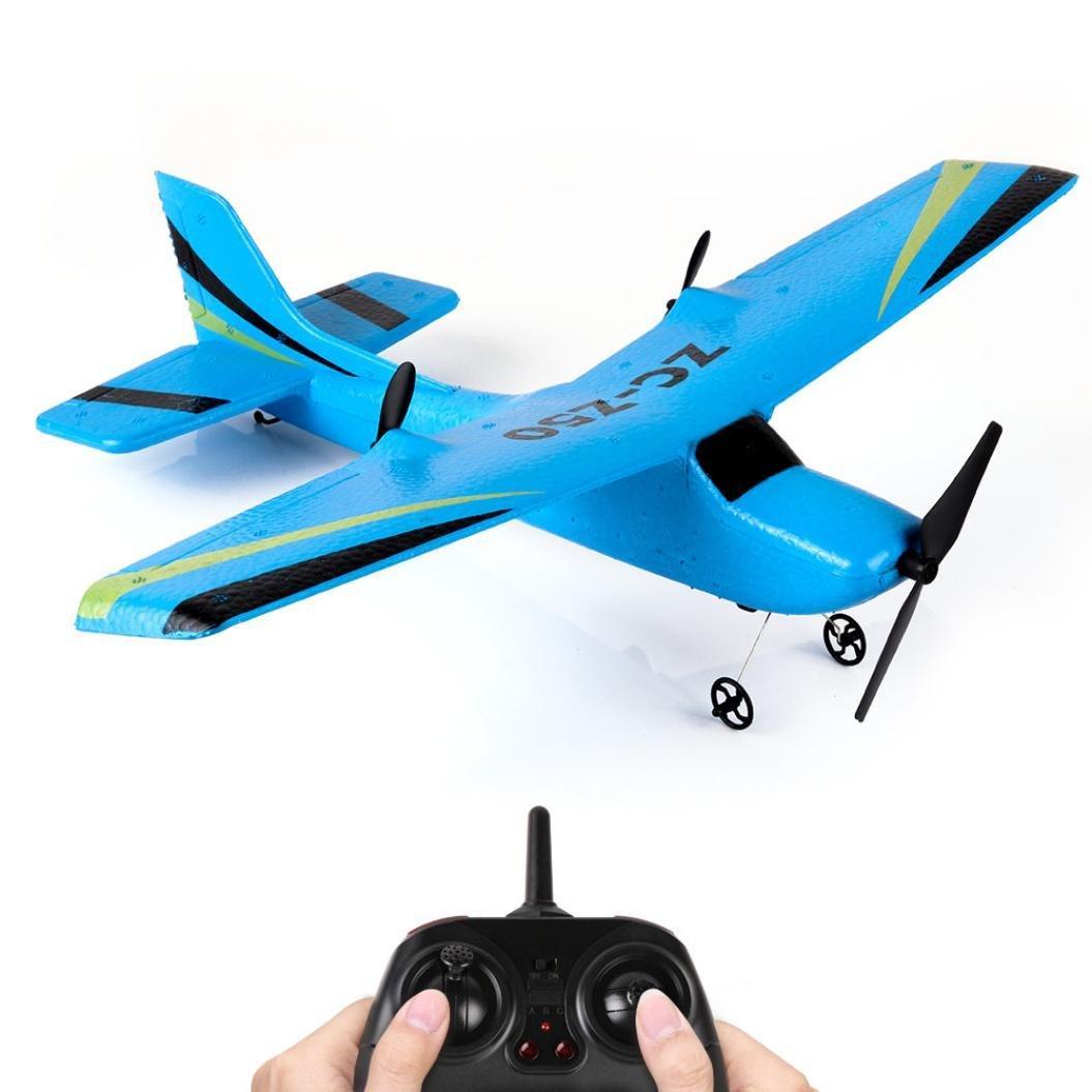 Літак на Радіоуправлінні ZC-Z50 розмах крил 340 мм Блакитний