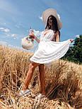 Женский нежный сарафан на бретелях с открытой спиной (в расцветках), фото 4