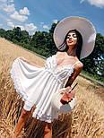 Женский нежный сарафан на бретелях с открытой спиной (в расцветках), фото 6