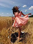 Женский нежный сарафан на бретелях с открытой спиной (в расцветках), фото 2