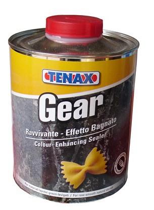 Защитная пропитка для натурального камня, мрамора, гранита, травертина, оникса GEAR прозрачный (1л) TENAX
