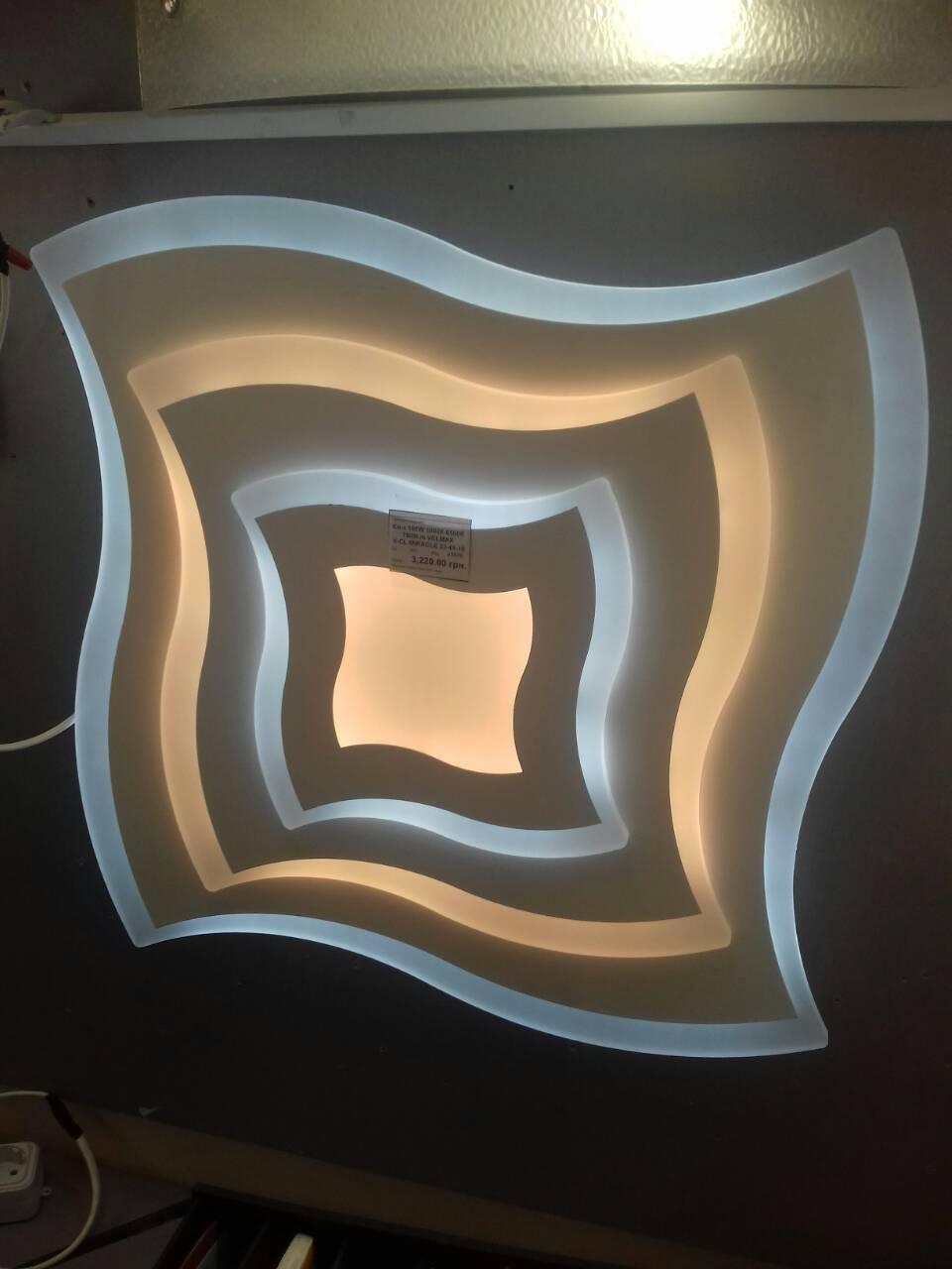 LED светильник SMART Люстра MIRACLE 100W 49 см диаметр