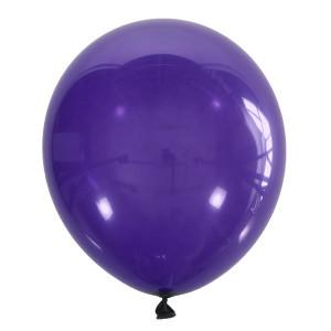 "Шар 5"" (12 см) Мексика декоратор 049 PURPLE (фиолетовый кристалл)"