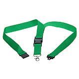 Шнурок для ключей с металлическим держателем, цвет Зеленый - su 95416104, фото 4