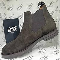 Чоловічі черевики демісезонні Joyce Milano замшеві Італія