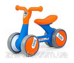Беговел для малюків Milly Mally Tobi Blue-Orange