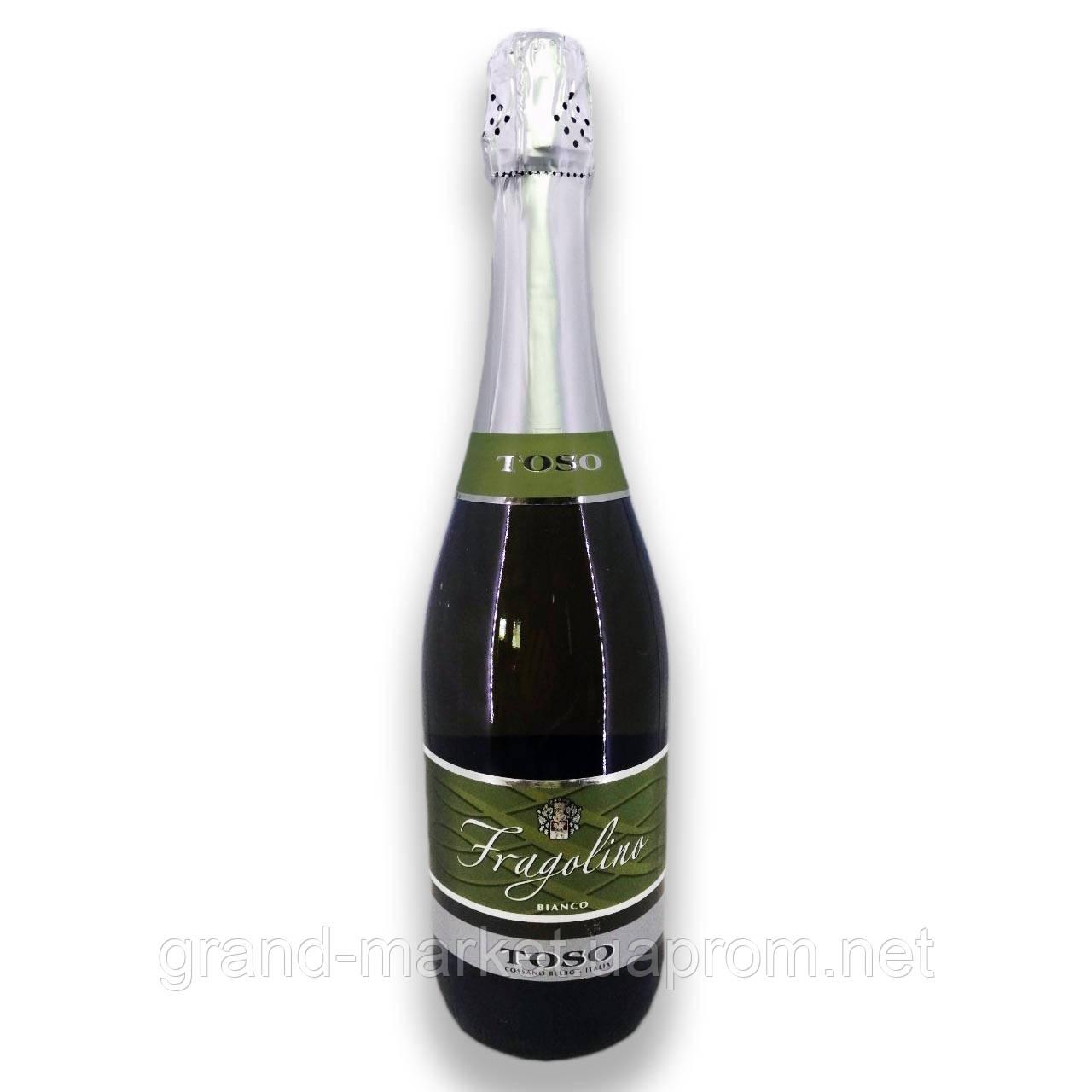 "Вино ігристе ""Fragolino Toso Bianco"" 0.75 l"