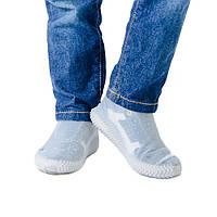 Чехлы-бахилы для обуви силиконовые Coolnice M (37-41) Белые