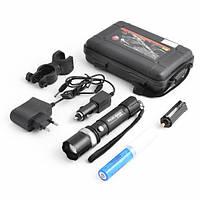 Фонарик BL 8628 XPE, Ручной фонарик, Аккумуляторный фонарик с велокреплением, Карманный тактичный фонарик
