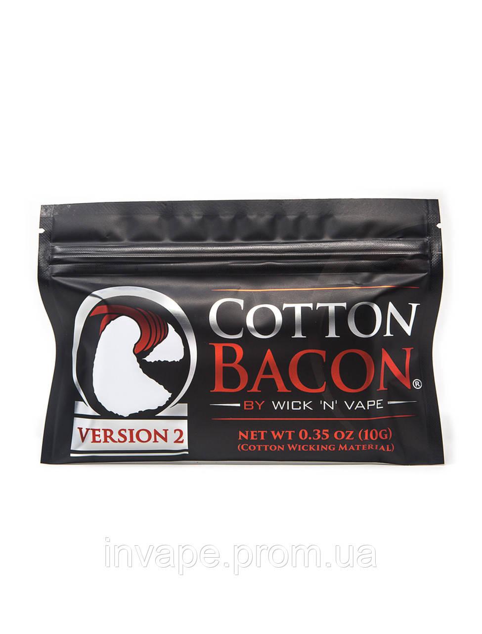 Хлопок Wick 'N' Vape Cotton Bacon Version 2