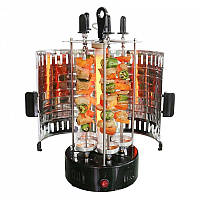 BBQ электрошашлычница, Электрическая шашлычница, Шашлычница для дома, Вертикальная шашлычница барбекю