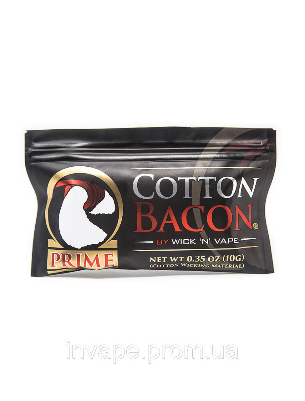 Хлопок Wick 'N' Vape Cotton Bacon PRIME