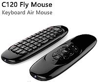 Аэромышь Air Mouse I8 (C120), Клавиатура с гироскопом воздушная мышь, Мини клавиатура  пульт, Пульт блютуз
