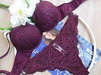 Комплект розовый нижнего женского белья Lormar