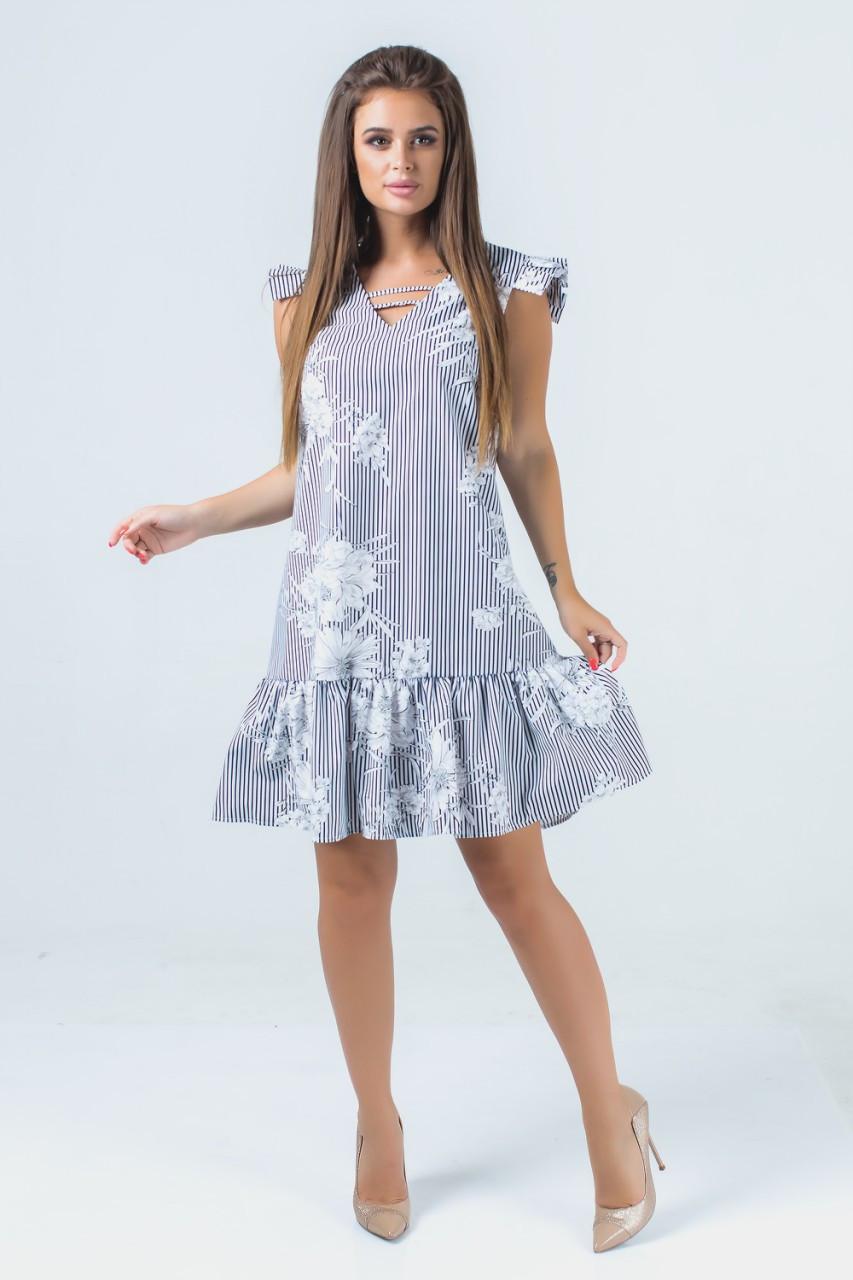 Платье летнее из коттона 42-48