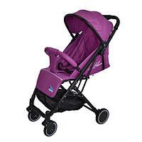Детская прогулочная коляска-книжка FK 8513B Purple-19