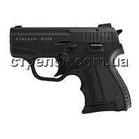 Пистолет стартовый Stalker M906 черный