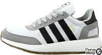 Мужские кроссовки Adidas Iniki Runner Light Grey