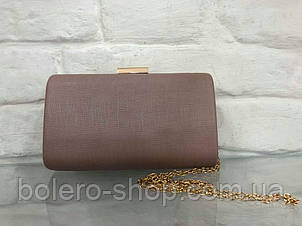 Женская сумка  экокожа  Италия коричневая, фото 2