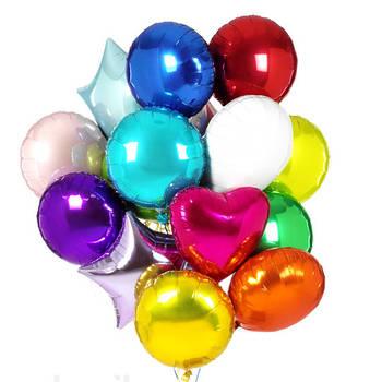 Фольгированные шары с гелием в Виннице