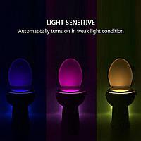 TOILET Led, Подсветка для унитаза с датчиком движения и света, Подсветка для унитаза