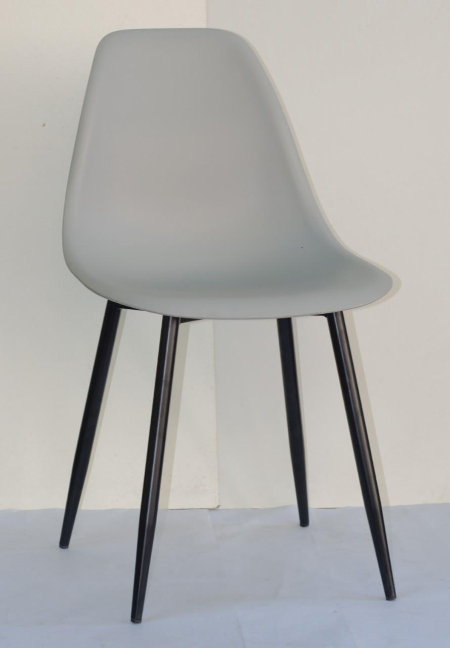 Стілець Nik Eames BKM, світло-сірий