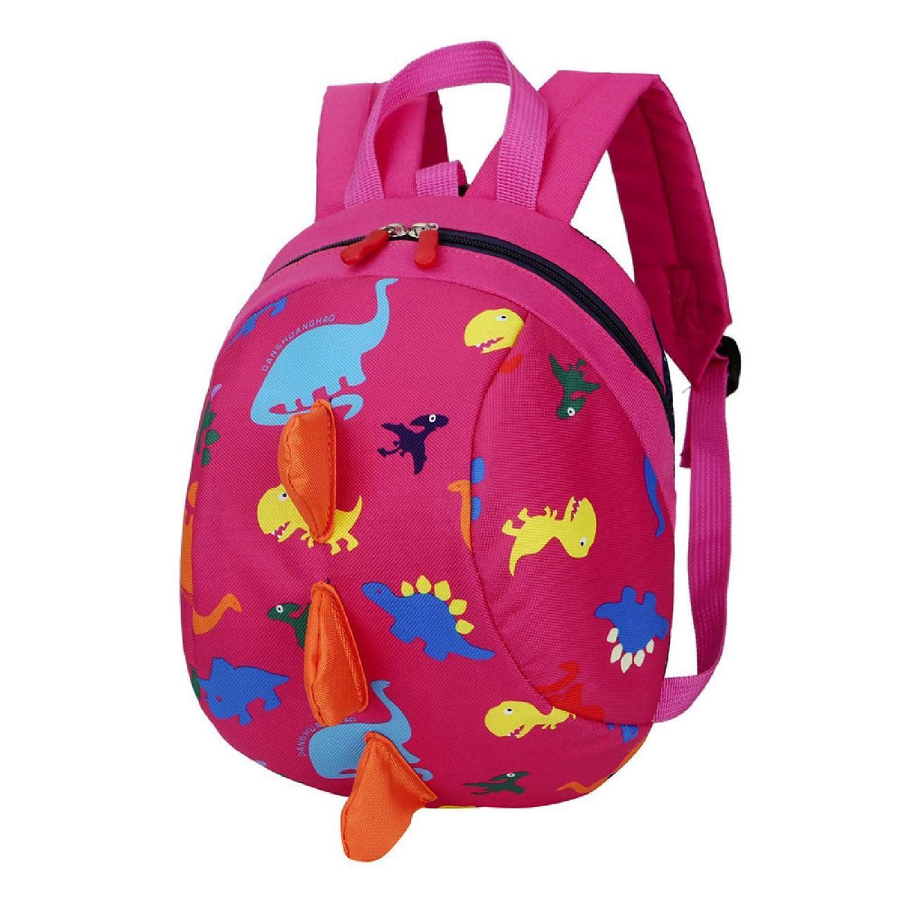 """Дитячий рюкзак """"Діно"""" рожевий"""