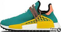 Мужские кроссовки Adidas Human Race NMD x Pharrell Williams «Sun Glow»