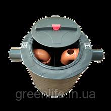 Сепаратор жира, с отстойником ,внутренний ,1.5 л/сек, жироуловитель, СЖ-1.5, Эколайн