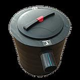 Сепаратор жира, с отстойником ,внутренний ,1.5 л/сек, жироуловитель, СЖ-1.5, Эколайн, фото 2
