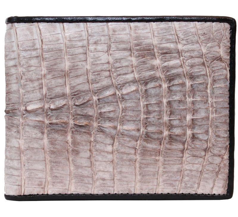 Кошелек мужской из кожи крокодила 11х9 см