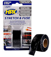 HPX SZ2503 Stretch & Fuse - силиконовая вулканизирующая лента для ремонта труб и электроизоляции 25 мм x 3 м