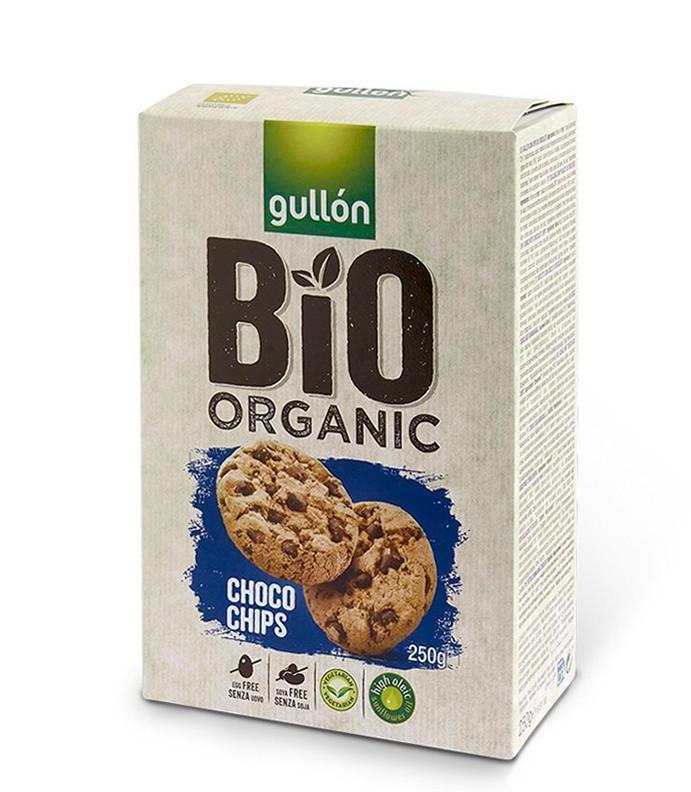 Печиво GULLON BIO Organic Choco Chips , 250г, 12шт/ящ