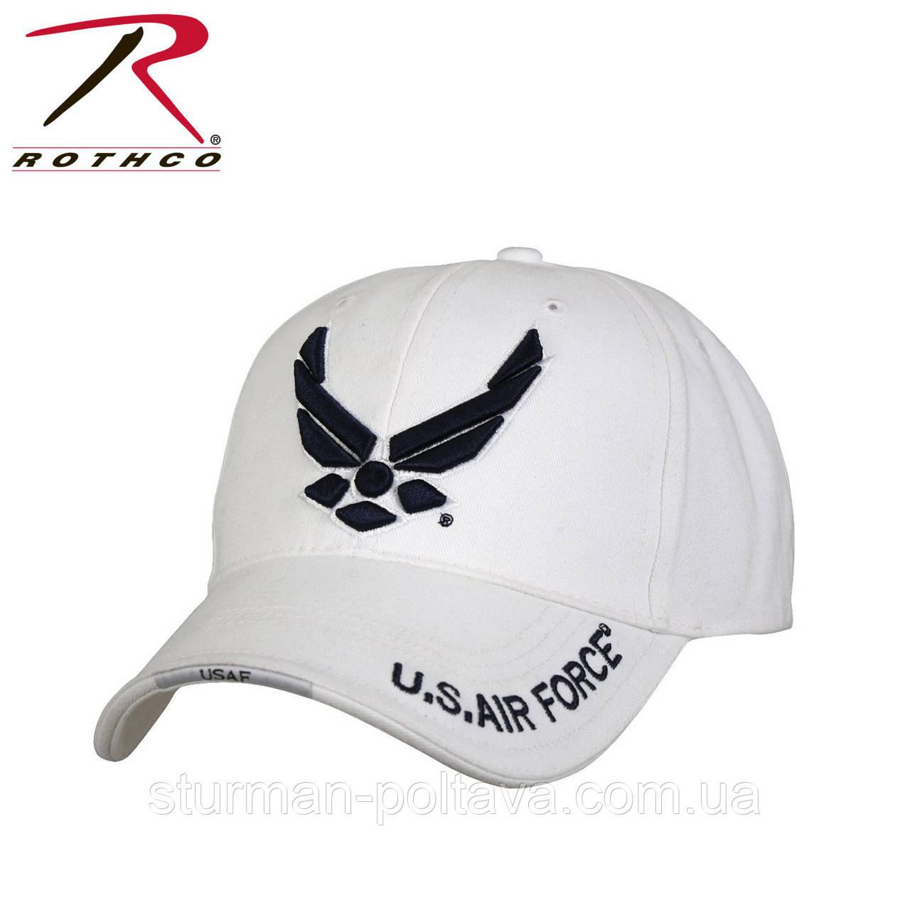 Бейсболка белая ВВС U.S. Air Force Low Profile Cap Rotcho    USA