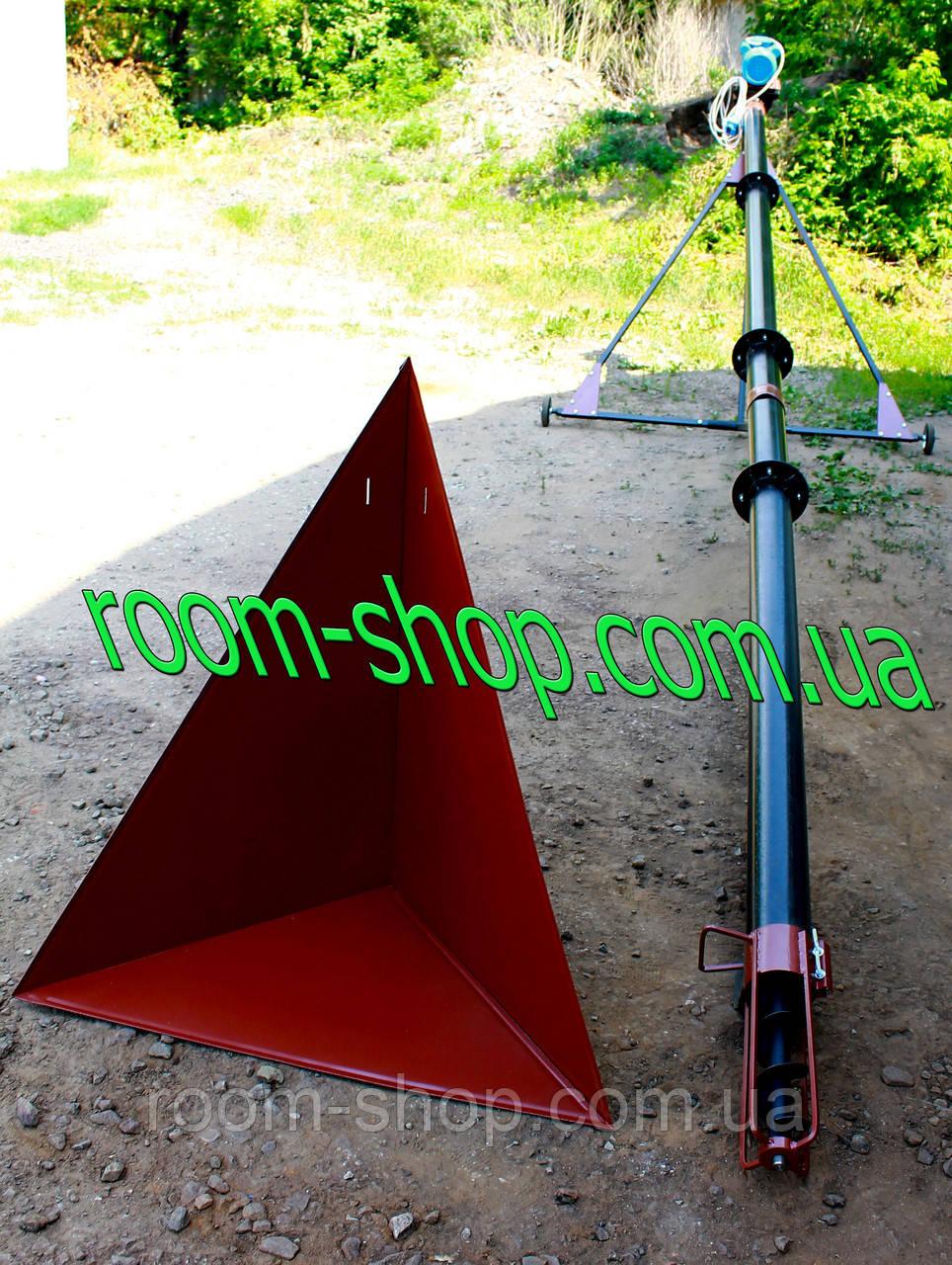 Шнековый конвейер (погрузчик, транспортер) диаметром 110 мм, длиною 5 метров