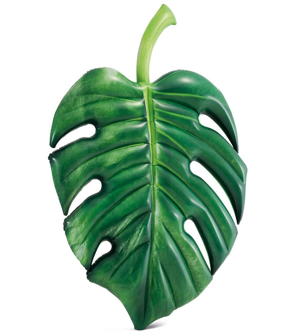 Надувной матрас Пальмовый лист Intex, 213х142 см.