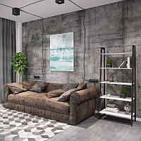 Стеллаж Призма 5 полок Металл-Дизайн
