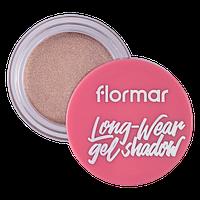 Кремові тіні для очей, Flormar, LITE IT UP GLITTER SPARKLING ROSE 01, 4 г