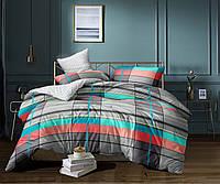 Комплект постельного белья полуторный, 150*220, сатин, TM Krispol (615.666)