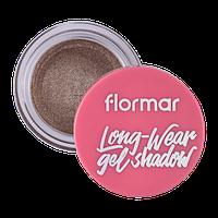 Кремові тіні для очей, Flormar, LITE IT UP GLITTER GLITTER COCOA 02, 4 г