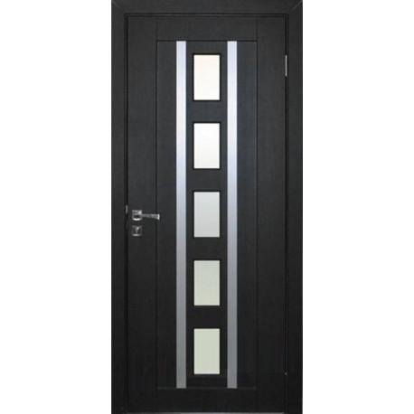 Міжкімнатні двері зі склом Неман РИМ Н-46 венге південний