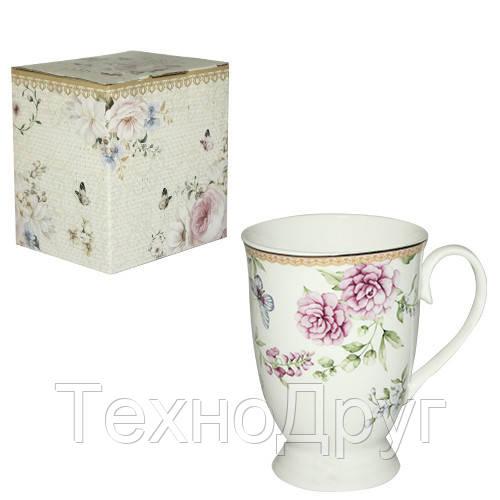 Чашка подарочная 320 мл Франжипан Snt 040-02-08