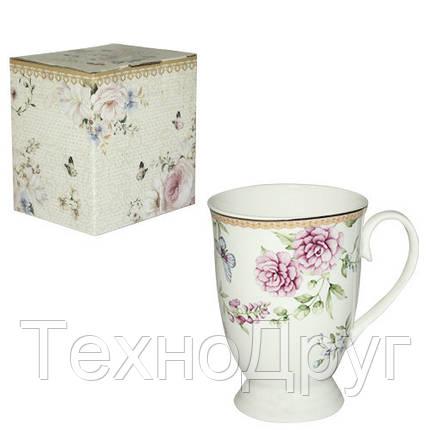 Чашка подарочная 320 мл Франжипан Snt 040-02-08, фото 2