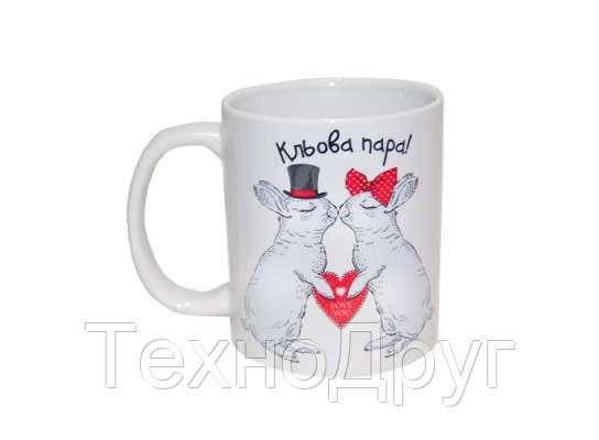 Чашка с кроликамиКльова пара 88-8718159, фото 2