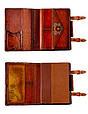 """Ежедневник (портфолио) А5 в кожаной обложке на магнитных кнопках """"Альфа"""" с кожаным вкладышем, фото 3"""
