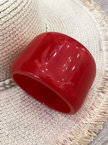 Браслет женский  красный итальянская бижутерия, фото 2