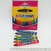 """Мелки восковые """"Crayons"""" набор 12цв."""