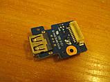 Плата з кнопкою включення і USB портом BA92-06023A Samsung R425 бу, фото 2