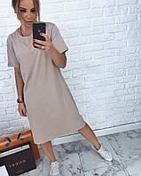Летние женское платье-футболка, фото 1